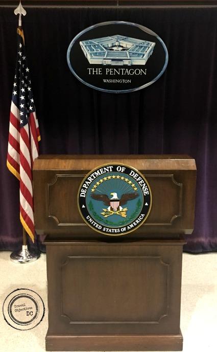 4 Pentagon Podium