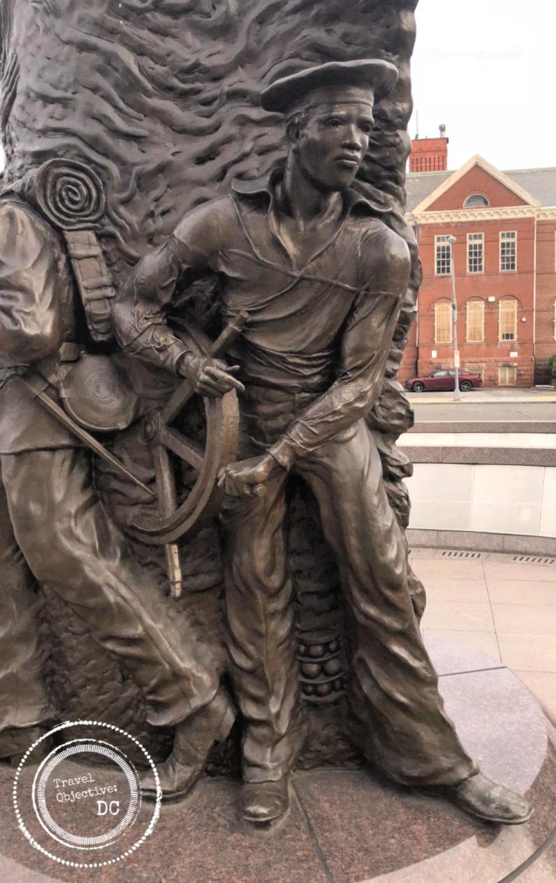 African American Civil War Memorial| African American Sailor| U Street| U Street Metro